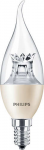 Philips LEDcandle DT 4-25W E14 827 BA38 LED žárovka