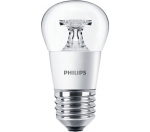 Philips CorePro LEDluster ND 5.5-40W E27 827 P45 CL LED žárovka
